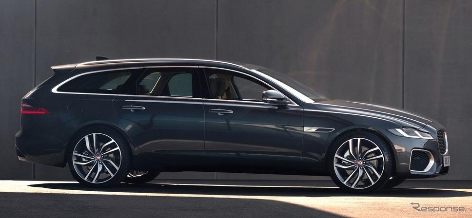 ジャガー XF スポーツブレーク 改良新型《photo by Jaguar》