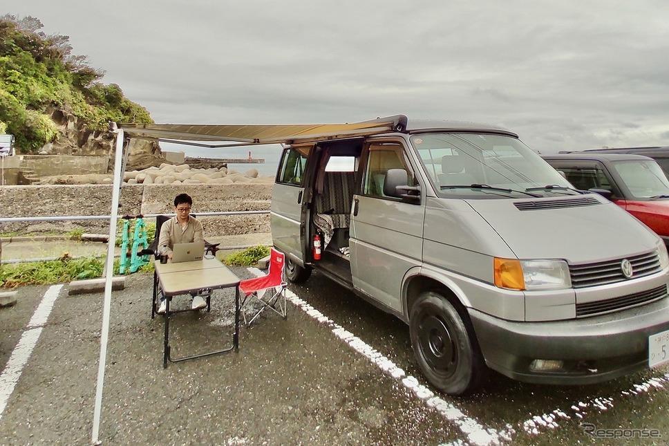 城ヶ島シーサイドRVステーション(11月開設予定)《写真提供 Carstay》