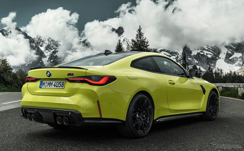 BMW M4クーペ 新型《photo by BMW》