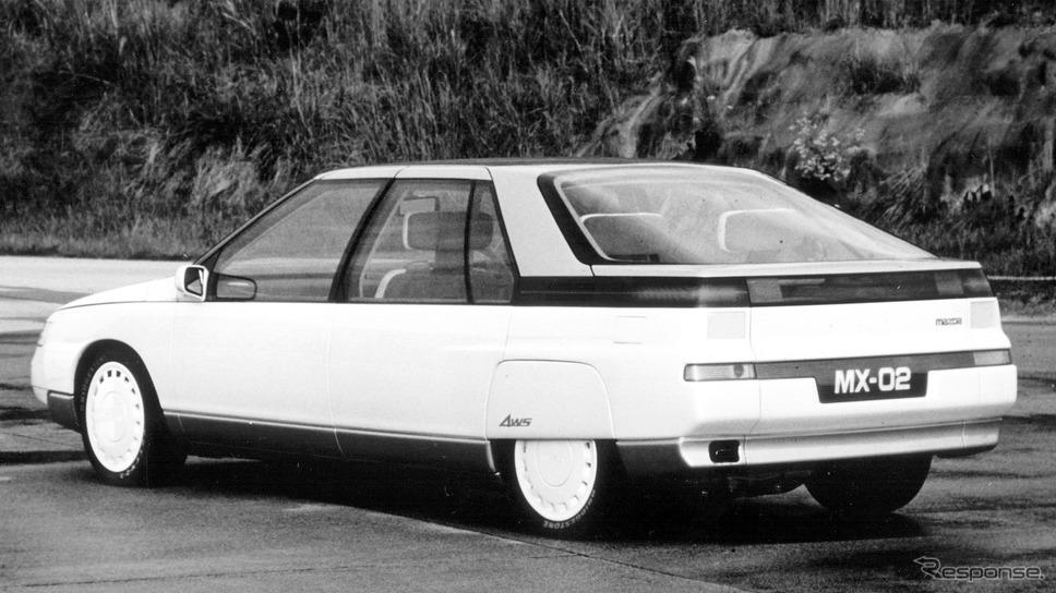 マツダMX-02(1983年)《photo by Mazda》