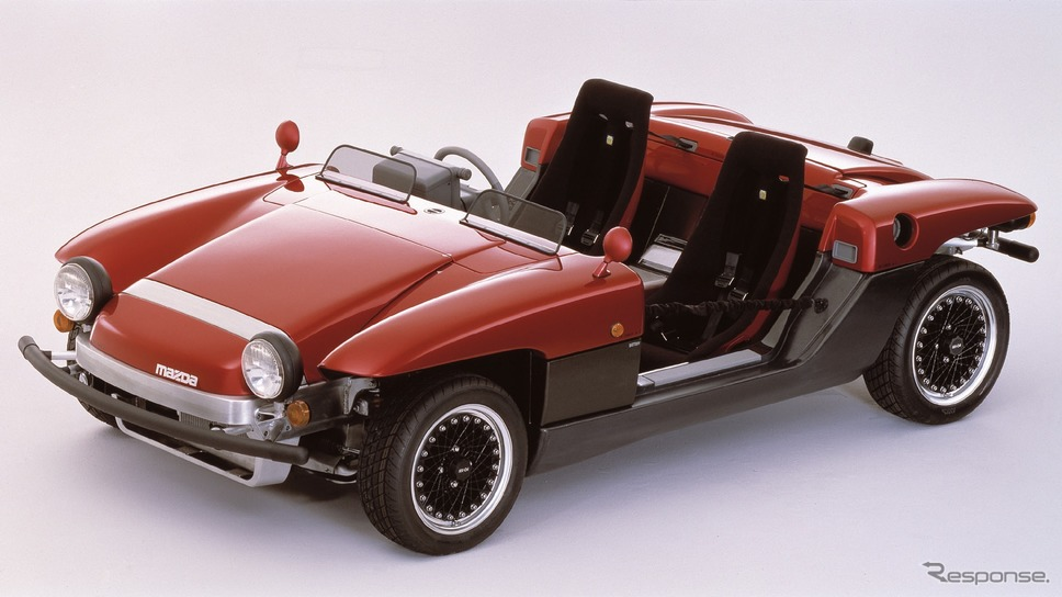 マツダMX-04(1987年)《photo by Mazda》