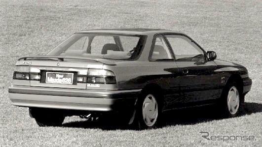 マツダ626スポーツクーペ(1987年、欧州向け)《photo by Mazda》