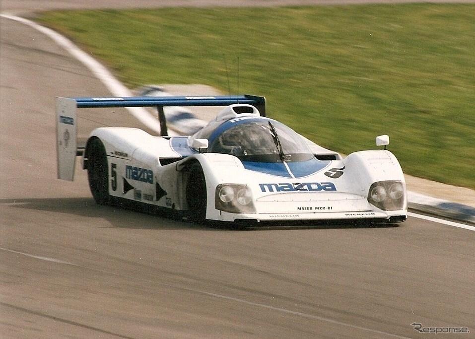 マツダMXR-01(1992年)《photo by Mazda》