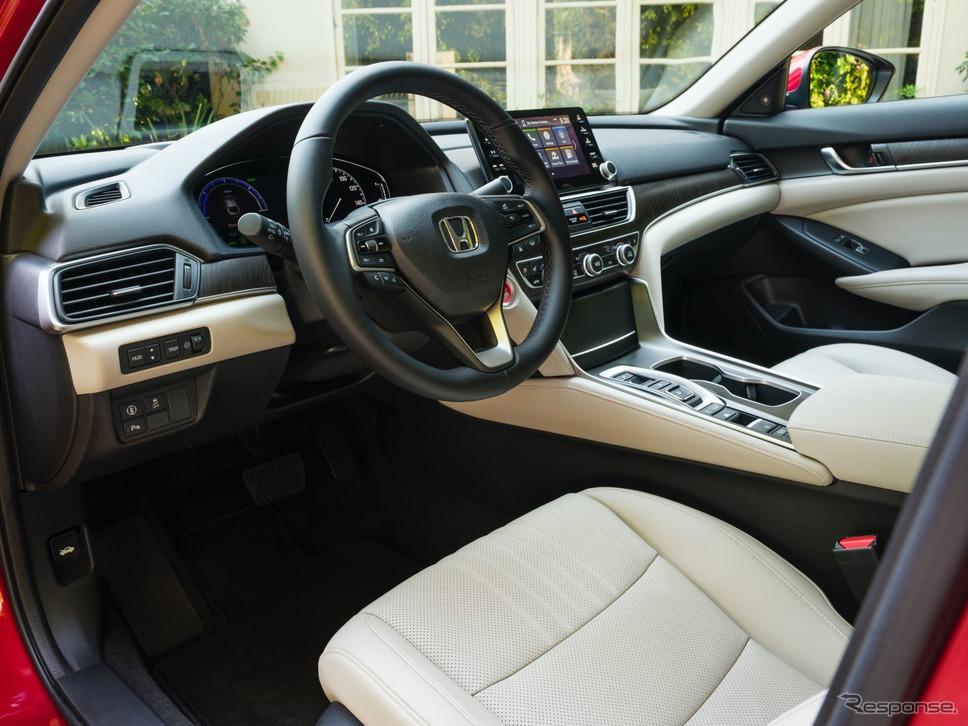 ホンダ・アコード・ハイブリッド の2021年モデル(米国仕様)《photo by Honda》