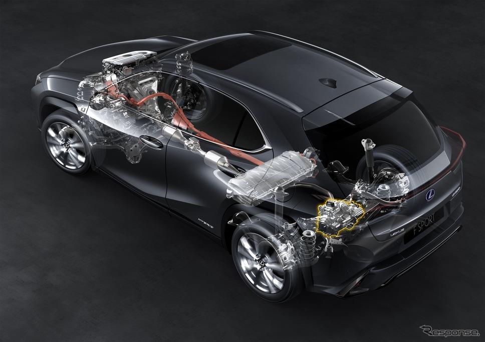 レクサス UX250h(欧州仕様)《photo by Lexus》