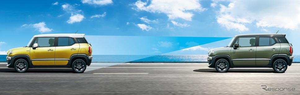 スズキ クロスビー アダプティブクルーズコントロール[全車速追従機能付]《写真提供 スズキ》