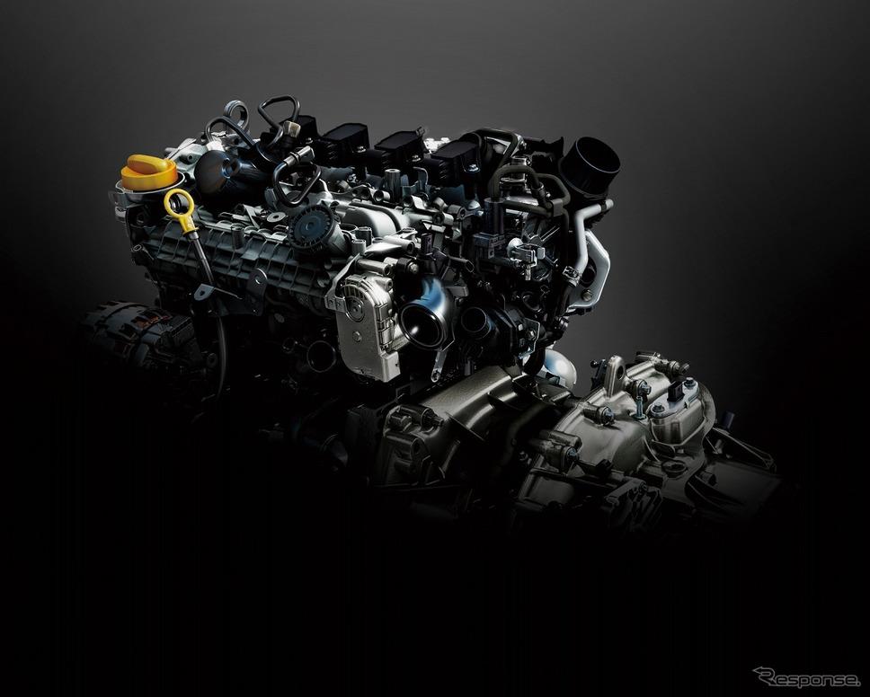 ルノー・ルーテシア新型、1.3L直噴ターボエンジン《写真提供 ルノー・ジャポン》