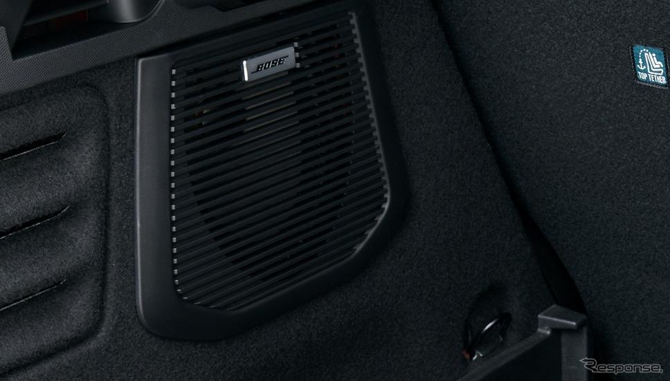ルノー・ルーテシア新型、Boseサウンドシステム(小型サブウーファー)《写真提供 ルノー・ジャポン》