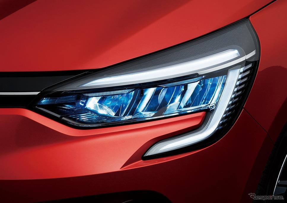 ルノー・ルーテシア新型、LEDヘッドライト/デイタイムランプ《写真提供 ルノー・ジャポン》