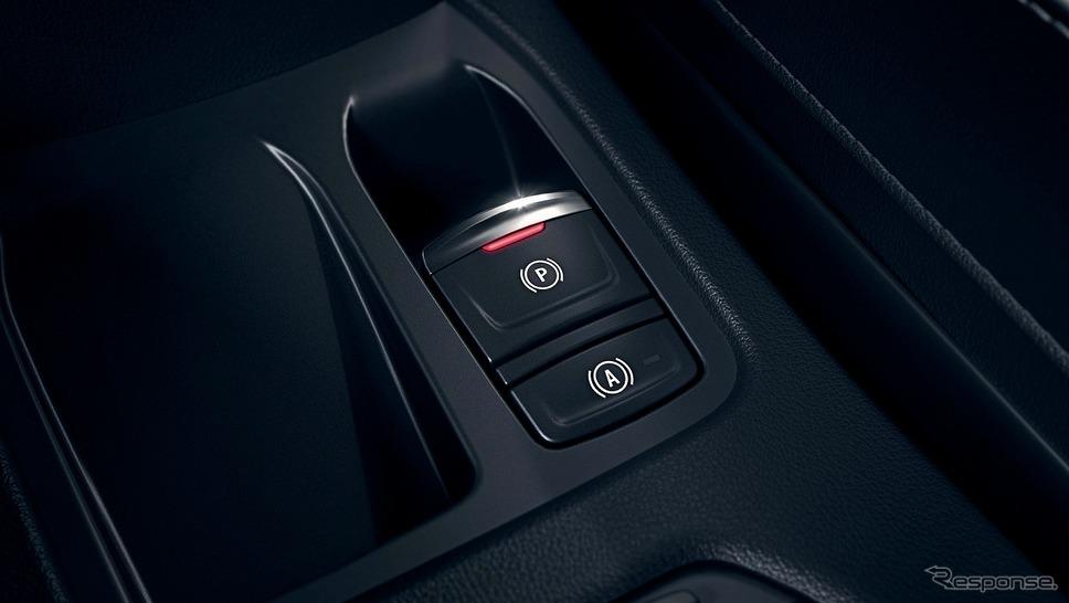ルノー・ルーテシア新型、電動パーキングブレーキ(オートホールド機能付)《写真提供 ルノー・ジャポン》