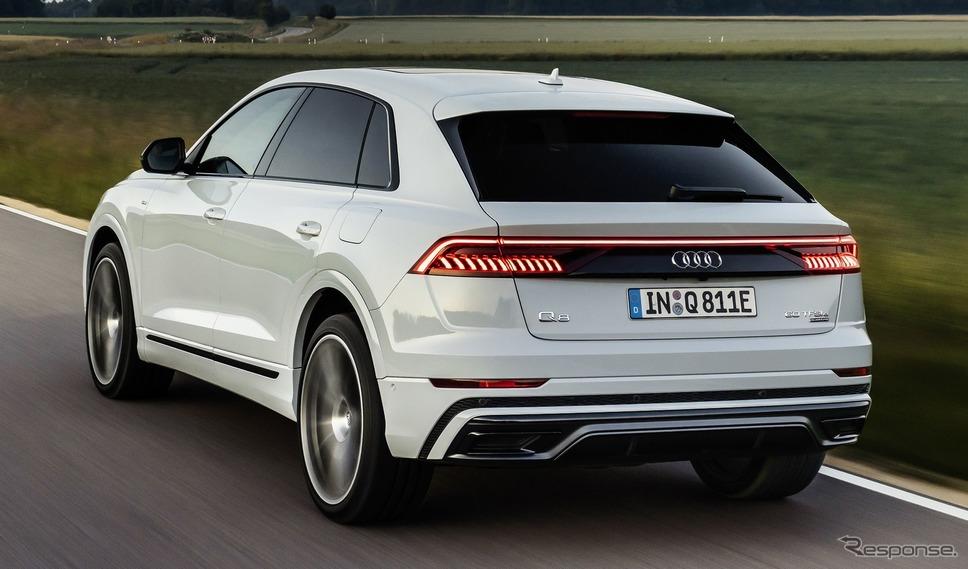 アウディ Q8 のPHV「60 TFSI eクワトロ」《photo by Audi》