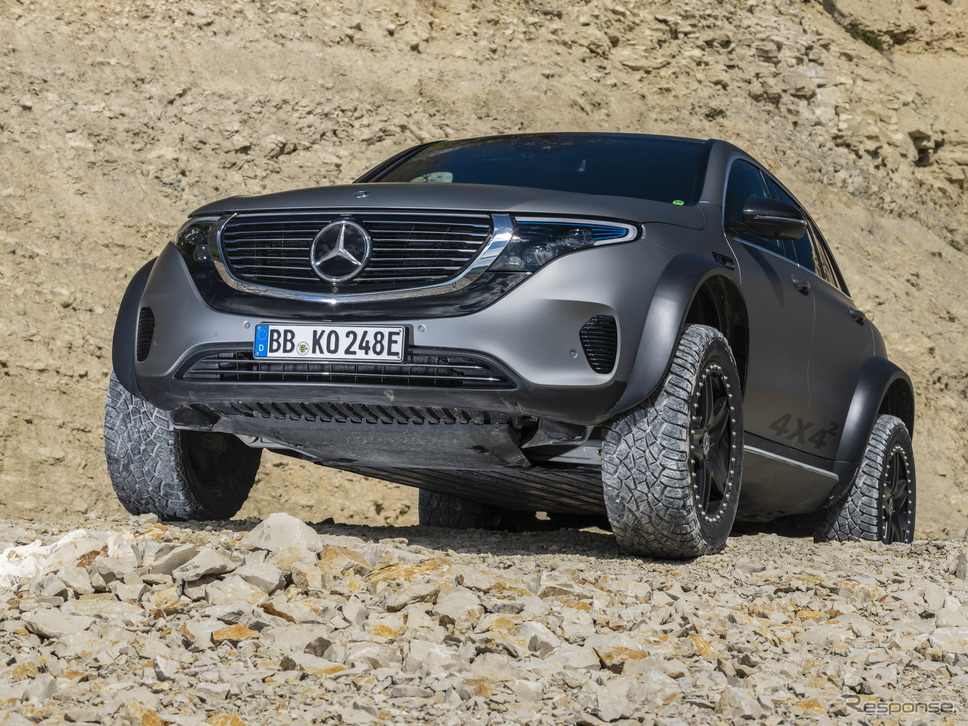 メルセデスベンツ EQC 4x4 2(フォー・バイ・フォー・スクエアード)《photo by Mercedes-Benz》