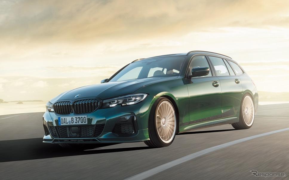 BMWアルピナ B3ツーリング《写真提供 ニコルレーシングジャパン》