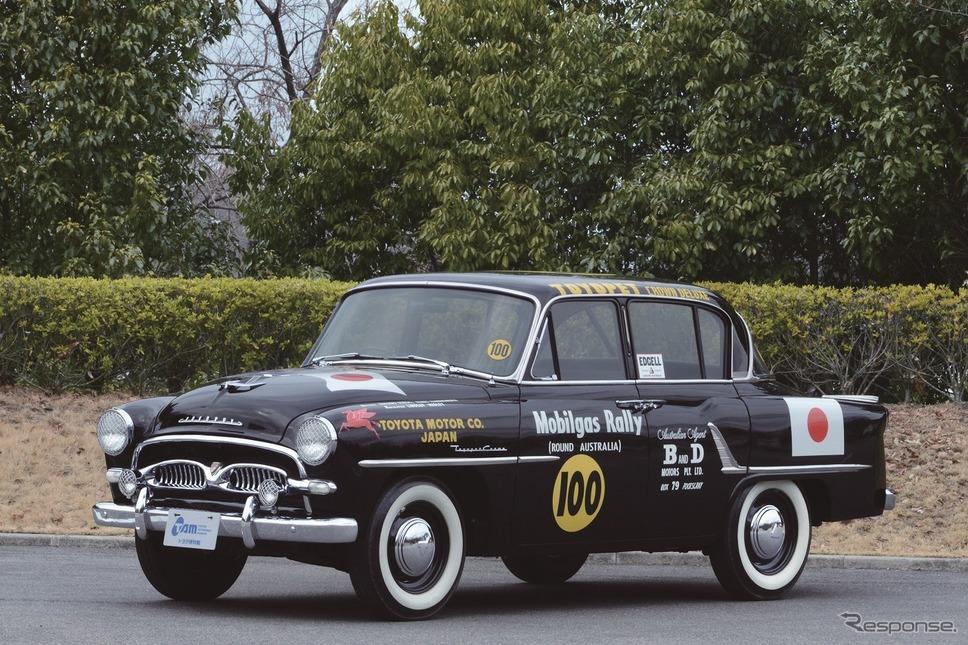1957 トヨペット クラウン RSD《写真提供 トヨタ博物館》