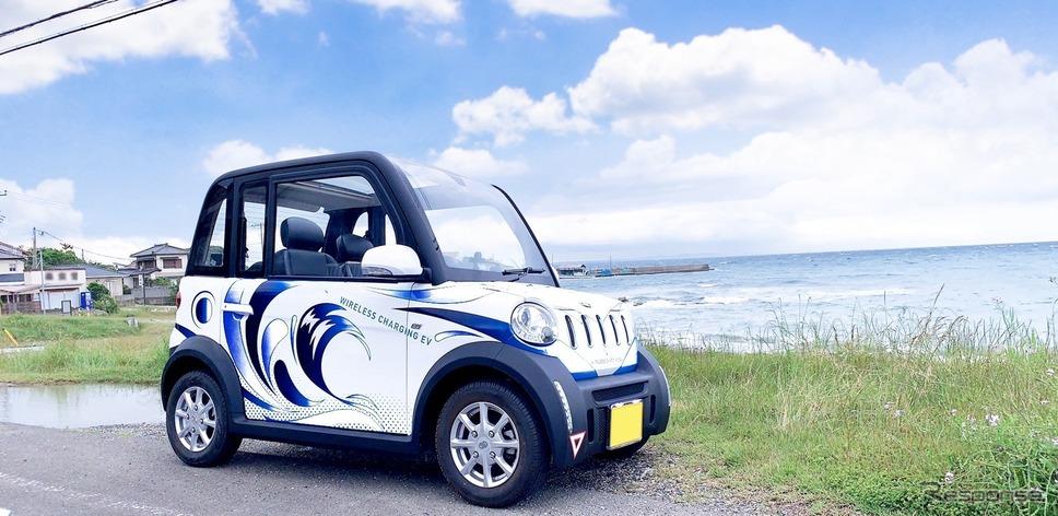 出光興産が館山市で超小型EVを活用して実施しているカーシェアリング事業「オートシェア」《写真提供 出光興産》