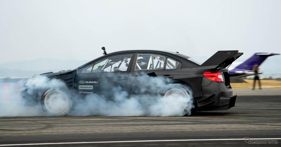 『ジムカーナ』ビデオシリーズ最新作のために製作されたスバル WRX STI のワンオフモデル《photo by SUBARU》