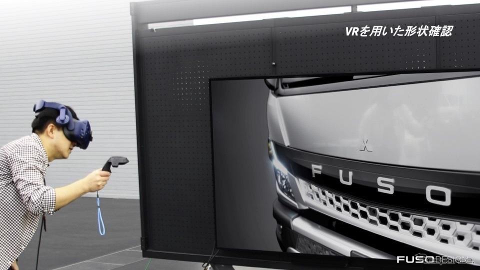 VRを用いた形状確認《写真撮影  内田俊一》