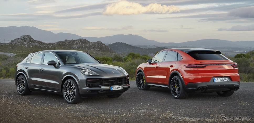 ポルシェ・カイエン・ターボ・クーペとポルシェ・カイエン・クーペ《photo by Porsche》