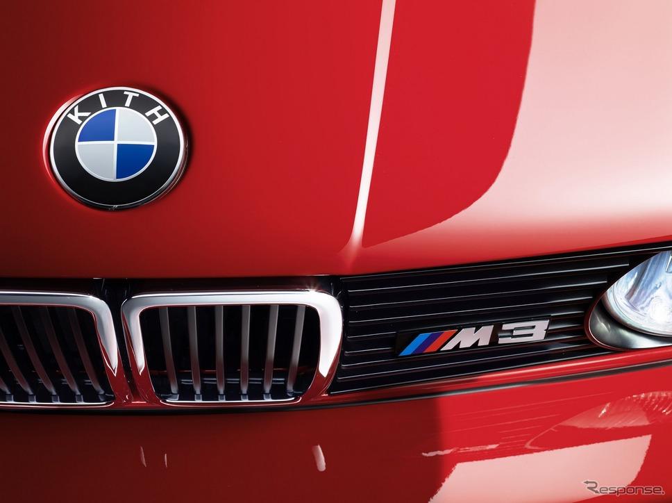 BMWの初代 M3 (1989年式)のワンオフモデル「E30ロニー・ファイグ・エディション」《photo by KITH》