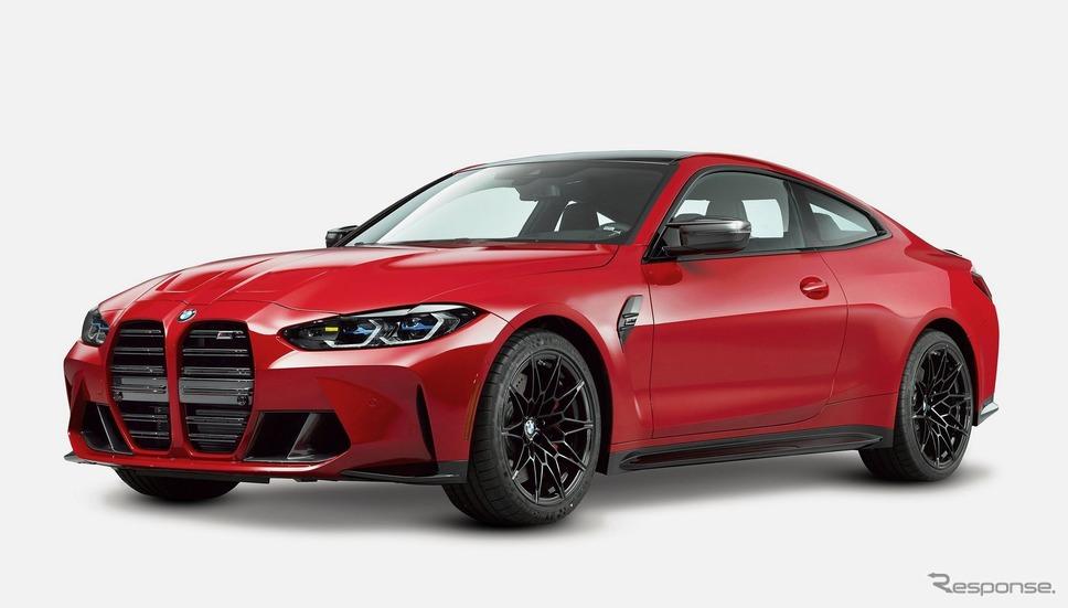 BMWの新型 M4クーペ のワンオフモデル「M4 デザインスタディ」《photo by KITH》