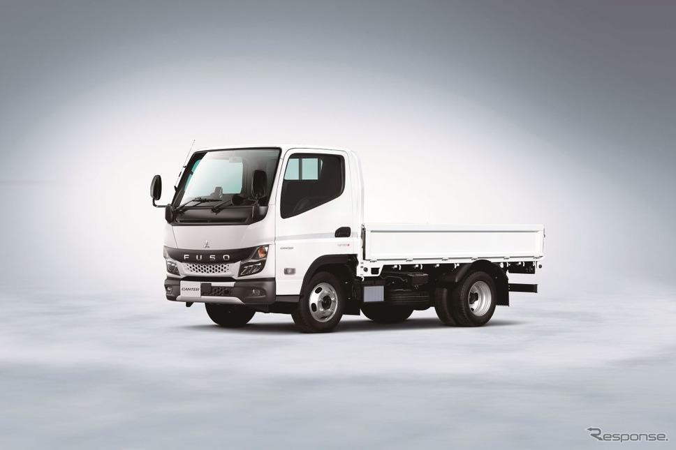 新型キャンター発表:トラックはBEVかFCVか?≪撮影:中尾真二≫