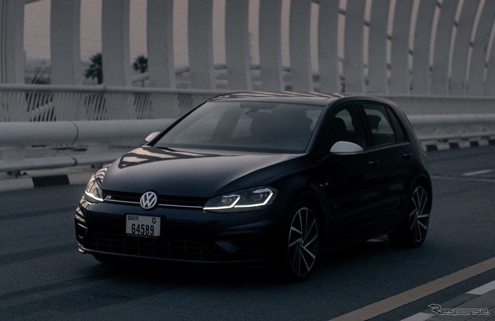 フォルクスワーゲン・ゴルフR 従来型(参考)《photo by VW》