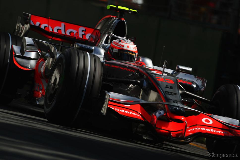 2008年、F1時代のヘイキ・コバライネン選手Photo by Clive Mason/Getty Images/Getty Images Sport