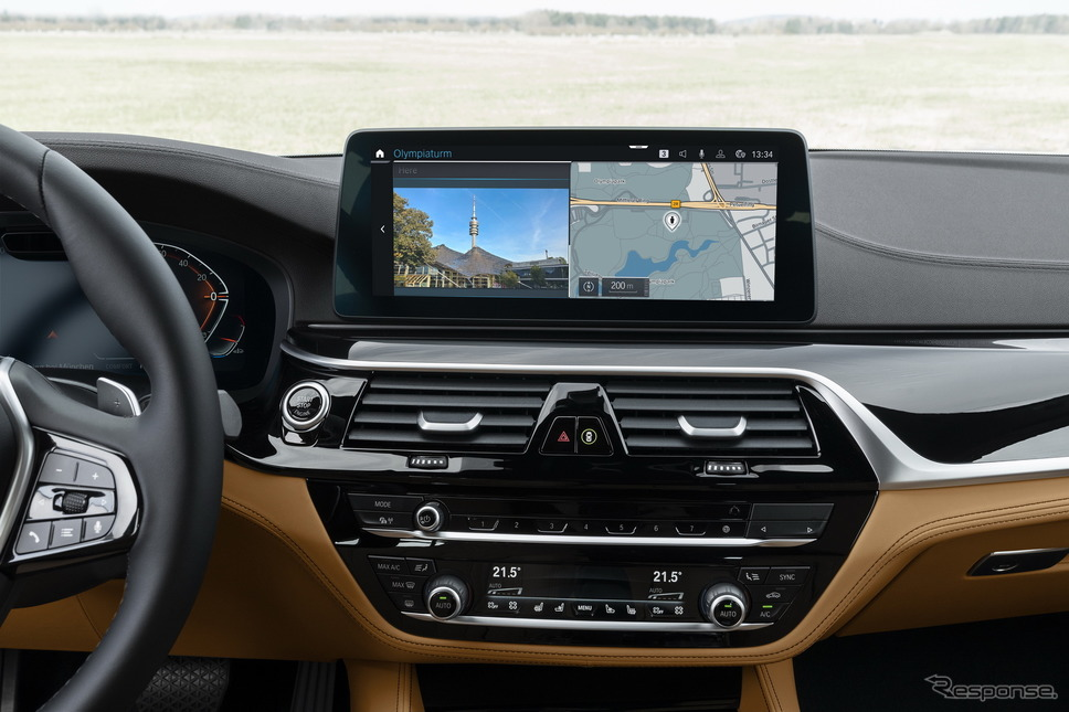 BMW オペレーティングシステム7の「バージョン07/20」《photo by BMW》