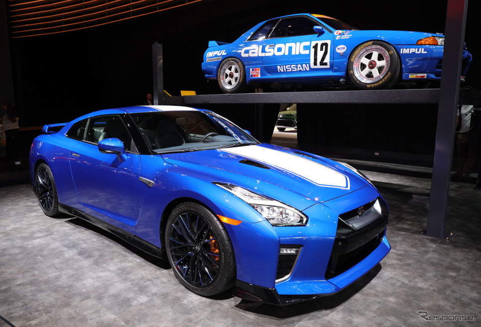 日産 GT-R 50thアニバーサリーエディション(ニューヨークモーターショー2019)《撮影 佐藤靖彦》