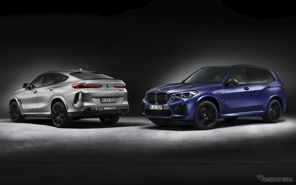 BMW X6M と X5M 新型の「ファーストエディション」《photo by BMW》
