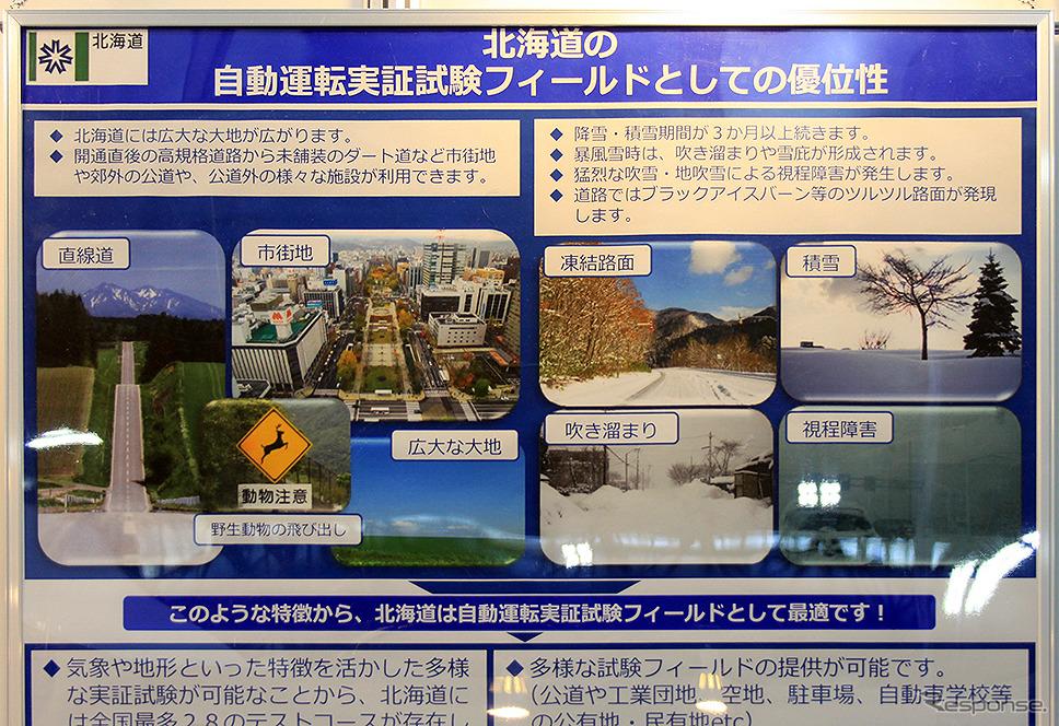 北海道 経済部(名古屋オートモーティブワールド2020)《写真撮影 大野雅人(Gazin Airlines)》