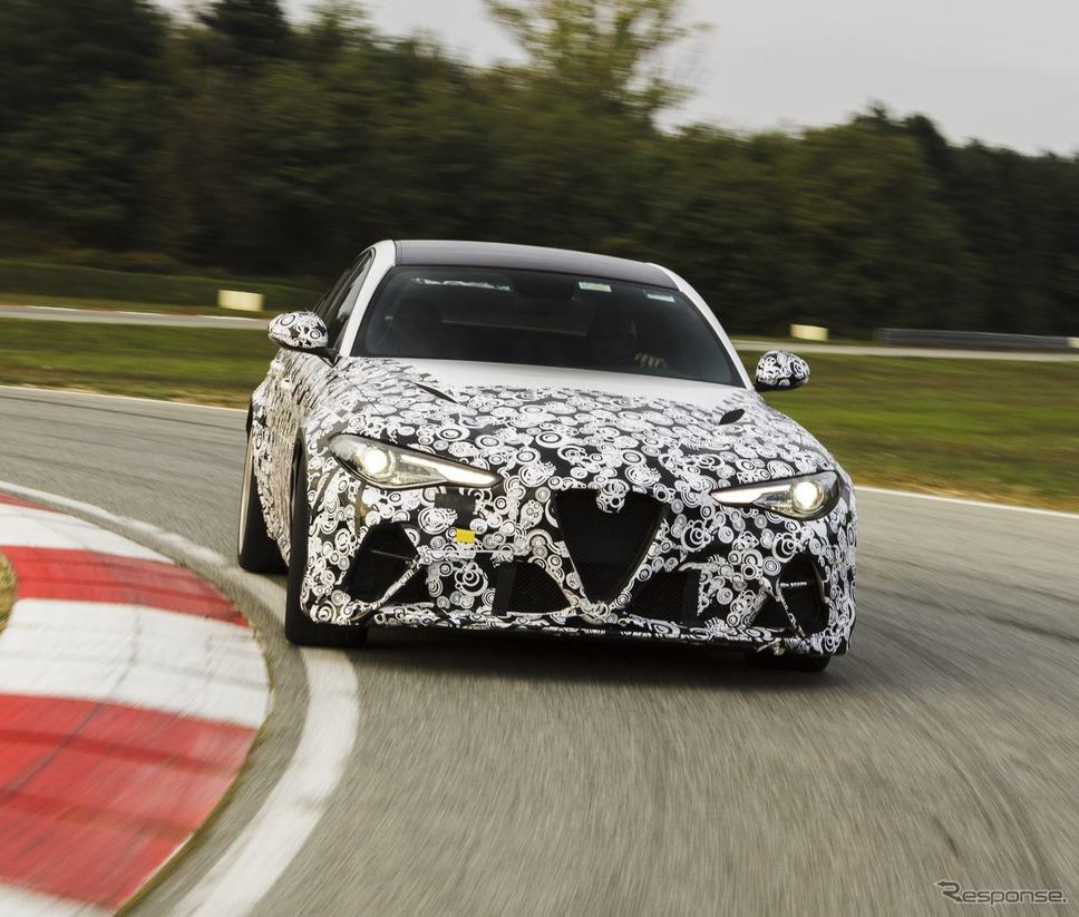 アルファロメオ・ジュリア GTA 新型のプロトタイプ《photo by Alfa Romeo》