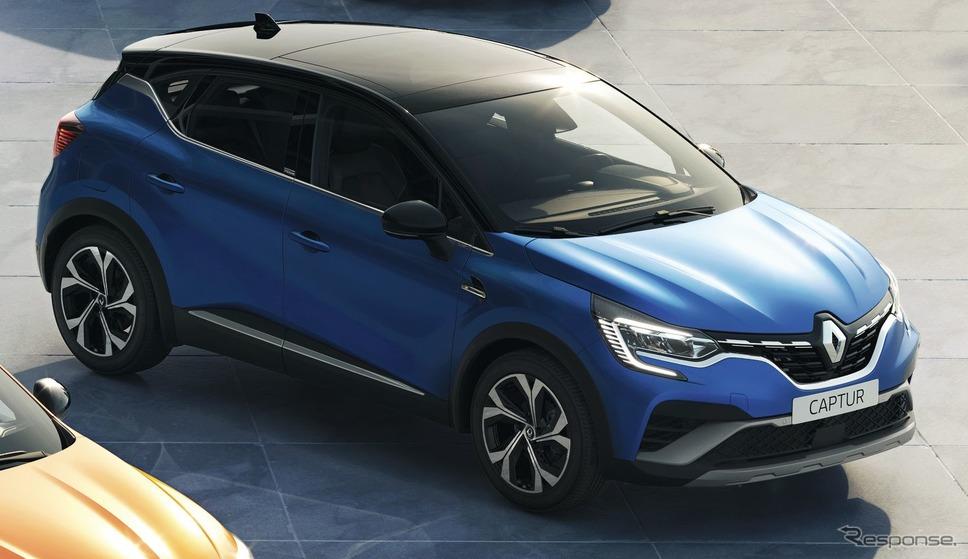 ルノー・キャプチャー 新型のE-TECHハイブリッド R.S.ライン《photo by Renault》