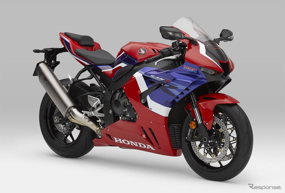ホンダ CBR1000RR-Rファイアブレード(グランプリレッド)《写真提供 本田技研工業》