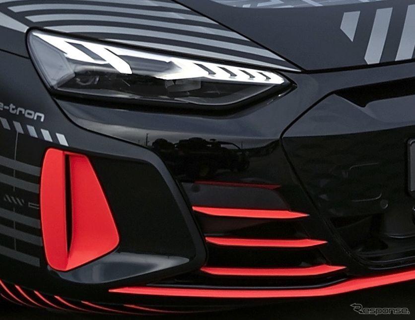 アウディ RS e-tron GT のプロトタイプ《photo by Audi》