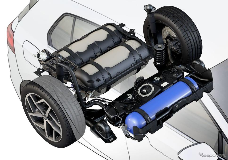 フォルクスワーゲン・ゴルフ TGI 新型《photo by VW》