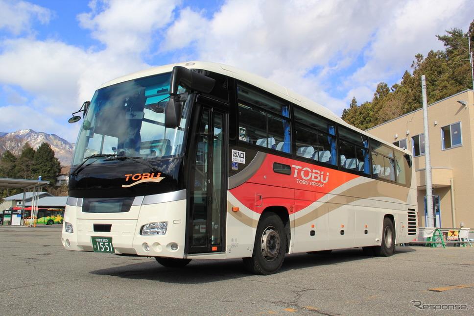 東武バス《写真提供 東武鉄道》