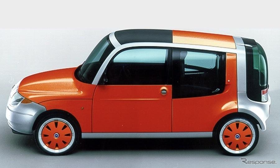 フィアット・エコベーシック・コンセプト(2000年)《photo by Fiat》