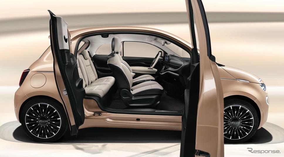 フィアット 500 3+1 新型《photo by Fiat》