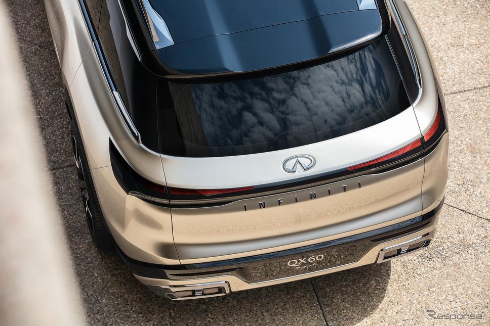 インフィニティ QX60 モノグラフ 着物パターン《写真提供 日産自動車》
