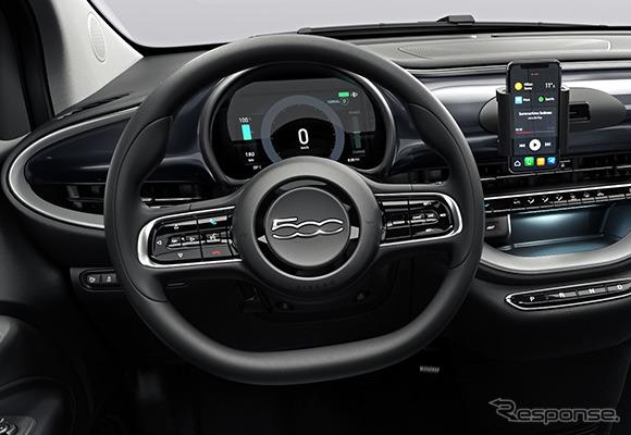 フィアット 500 新型の「アクション」《photo by Fiat》