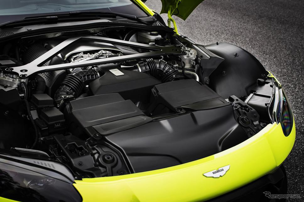 アストンマーティン・ヴァンテージ。V8エンジンはメルセデスAMGが供給《photo by Aston Martin》