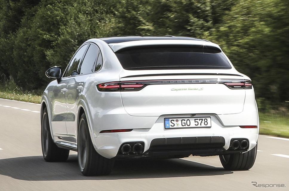 ポルシェ・カイエン・ターボ S Eハイブリッドクーペ《photo by Porsche》