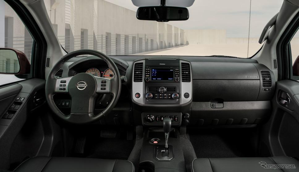 日産 フロンティア 現行型(参考)《photo by Nissan》