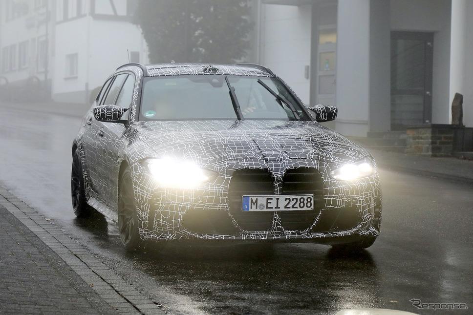 BMW M3ツーリング プロトタイプ(スクープ写真)《APOLLO NEWS SERVICE》