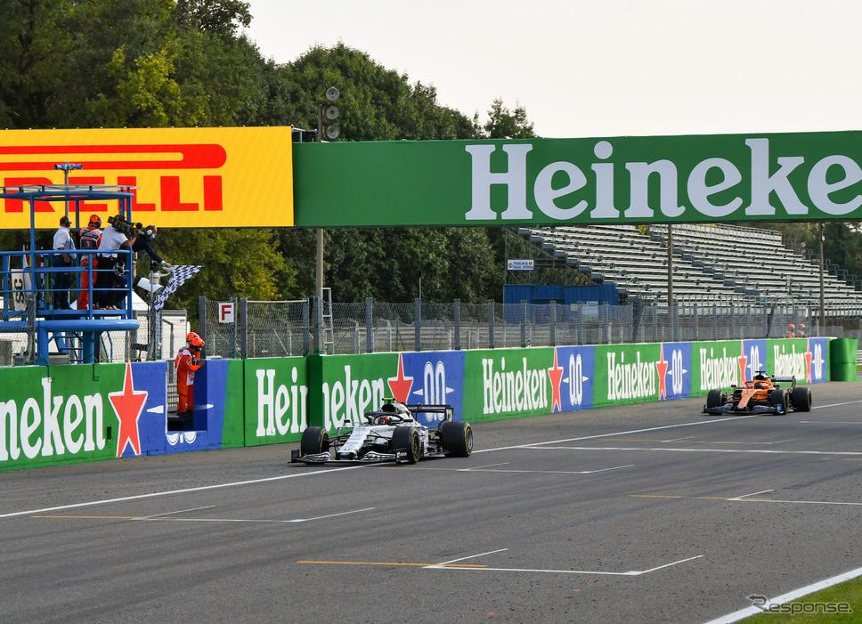 今季イタリアGPでF1初優勝を飾った#10 P.ガスリー(アルファタウリ・ホンダ)。《写真提供 Honda》