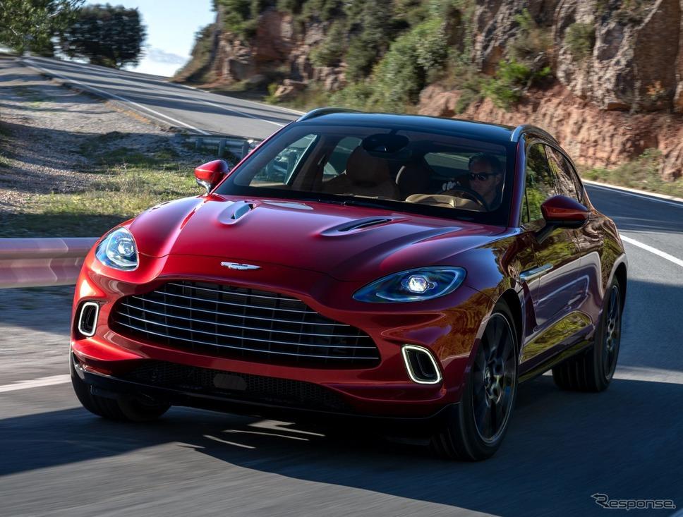 アストンマーティンDBX《photo by Aston Martin》