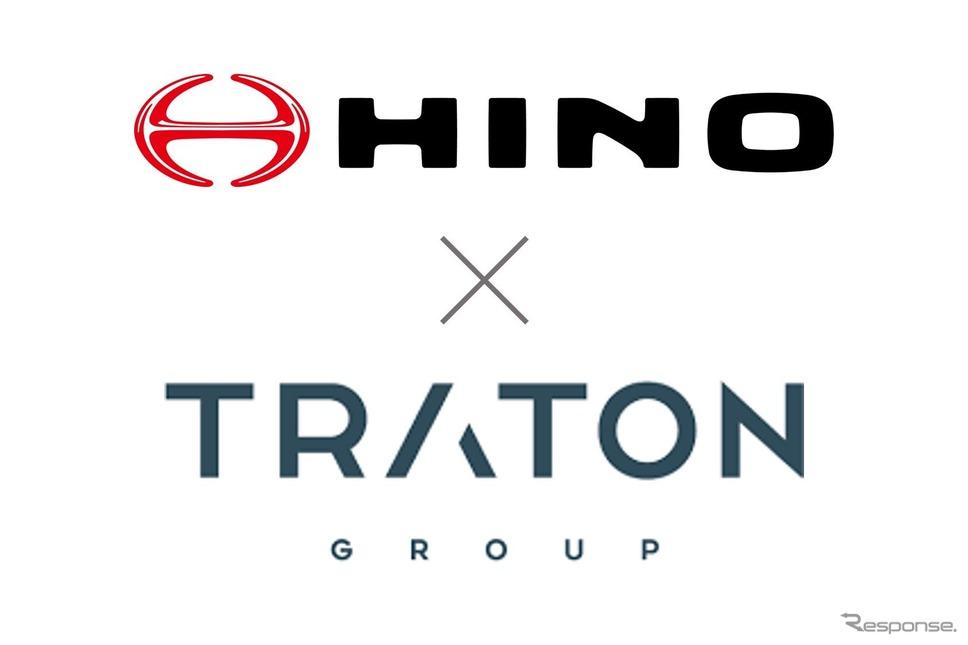 日野とトレイトンが電動車領域で協業契約を締結《画像提供 日野自動車》