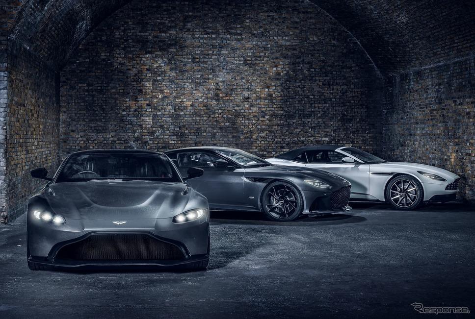 アストンマーティンのラインナップ《photo by Aston Martin》