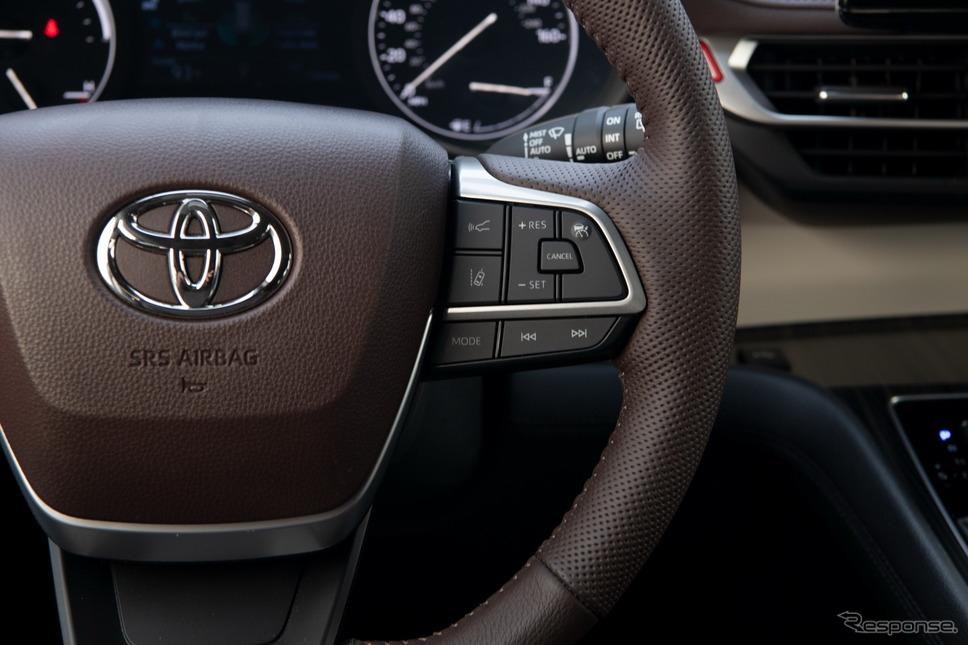 トヨタ・シエナ 新型《photo by Toyota》